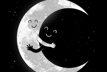 Moon Baby  / Moon and the Sun are brothers. So this is like a family photo album.
