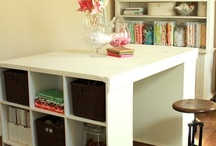 Sewing/craft studio/office / by Jeanne Charlson