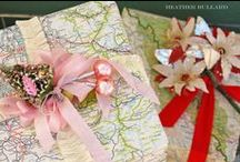The Gift is in the Giving / Gift ideas and creative gift wrap ideas. / by Rebecca Hood