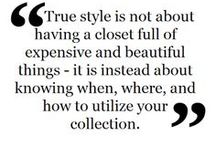 Shop Your Closet / Closet inspiration because you can't wear what you can't find.  Tips on how to have a curated closet.