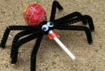 Halloween Crafts / Halloween is a great time of year for kids to make things - either for inside or outside. Here's a collection of a few of the things we've found.