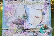 My Design Work- Scrapbook Layouts / Creations made by me, Amy Lynne Lassiter / by Amy Lynne Lassiter