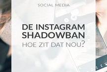 // social media / Instagram, Facebook, Pinterest