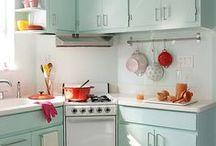 kitschy kitchen / by Julia Marchand