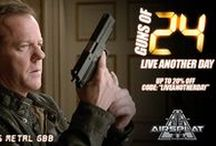 AirSplat's Guns Of... / AirSplat's airsoft guns based on guns featured in movies or television shows!