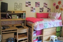 Maria - College Life / Dorm Room to Apartment ideas / by Charlotte Deni
