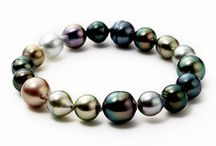 Tahiti pearls / pearls with great allure in a unique variety of colors