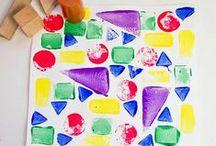 Toddler - Pre-K Arts & Crafts / by Brandi Collins