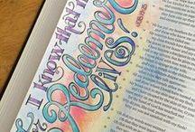 Bible Journaling / Bible Journaling Ideas