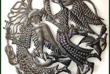 Haitian Metal Art/ Fer découpé Haiti
