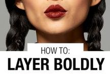 Get the Look: Bold Looks / From colorful lips to a smoky eye to a dramatic eyeliner and bold lashes -  Maybelline has the  beauty tips, tricks and hacks you are searching for.