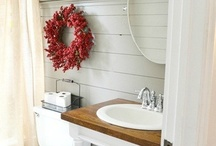 Dream House Bathrooms / Does anyone actually dream of their dream house bathrooms? If I did, these would be some starting ideas. / by City Wife, Country Life