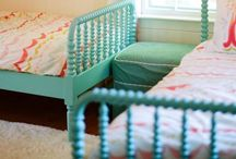 for mia and zoe's room / by Melissa Brown
