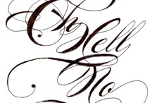 Calligraphy / by Rani Anderson