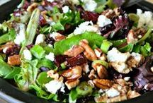 Salads with Leafy Greens / by Lindsay B