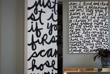 For the home / by Erika Benares