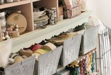 Inspiring Craft Rooms  / by The Whimsical Witch
