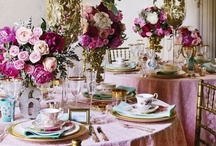 Table setting ideas / by Erika Benares
