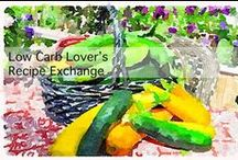 *Low Carb Lover's Recipe Exchange / This is an extension of my Facebook Group called Low Carb Lover's Recipe Exchange…. a place to post your favorite LOW CARB recipes!  http://www.facebook.com/groups/808462775850915/  Please feel free to add YOUR recipes to this site! Please only pin LOW CARB FOOD recipes only & please, take the time to check the link for the ACTUAL recipe BEFORE pinning.