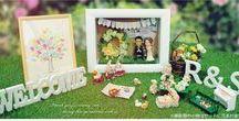 ウェルカムドール フィギュア ケーキトッパー / 結婚式での受付やプレゼントに、新郎新婦様に雰囲気の似せた可愛いオーダーメイドのオリジナルフィギュア。ケーキトッパーにも?
