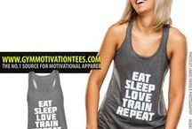 Gym Motivation Shirts / For more Motivational apparel go to www.gymmotivationtees.com
