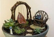 faerie garden / miniature landscaping ideas for my daughter
