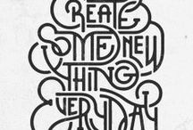 type & letters / by Kat Whalen