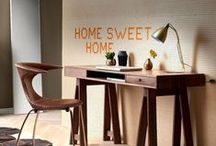 Home Office Trends / Modern and Contemporary office designs, including Dane Decor furniture.