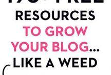 Best Blog Freebies + Resources / Blog freebies, blog resources and tools, free blog images, free blog tools, free images for bloggers, free courses for bloggers, free blog graphics, free blog backgrounds