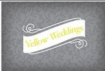Yellow Weddings / weddings with yellow color scheme / by Amanda Elkins - Bellamanda Photography