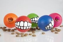 Dog Toys / Dog toys that entertain and keep those jaws busy.