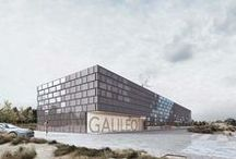 Galileo Reference Centre / Design for the Galileo Reference Centre, a new data collection center for the Galileo satellite system in Noordwijk, The Netherlands. Primarily housing office space and computer rooms, the center has been designed as a highly efficient and resilient building which can be adapted into the future.