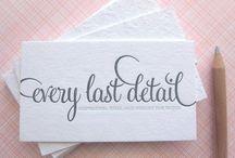 Invitations and Paper Pretties