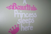 Julie / What Julie loves, anything pink, princess and glitter :)