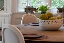 Home Inspiration ::: Dining Room