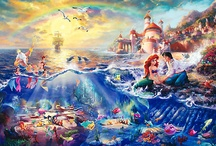 Thomas Kinkade Disney Art