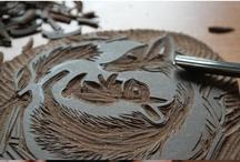 Linocut / Linogravure