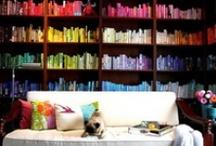 Bookshelves, reading nooks, bookstores & libraries