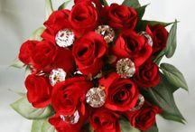 Wedding Bouquets / BOUQUETS  / by Caren Quadros (Davis)