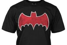 Batman / T-shirts featuring Batman new and older vintage designs and also great ones from the Batman TV Series from 1966. All these and more can be found online at www.jackofalltradesclothing.com / by Jack of All Trades Clothing
