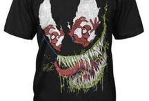 Spider-man / T-shirts of your favourite neighbourhood Spider-Man artistically created by Jack of all Trades like no other company can do because we love what we do! All these and more can be found online at www.jackofalltradesclothing.com / by Jack of All Trades Clothing
