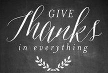 {Thanksgiving }
