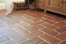 Floors - terracotta