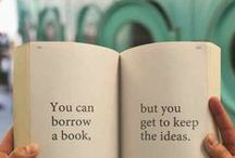 books. / sharing my passion for books, reading and writing.