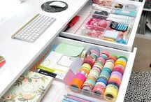 Organizing Love ::: Office Spaces