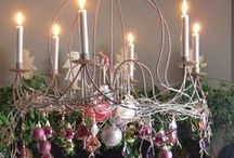 ~Seasonal Chandeliers~ / Decorated chandeliers for every season