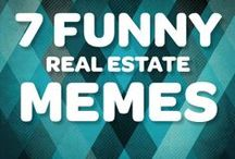 Real Estate Humor / The real estate industry means serious business... most of the time! / by Point2