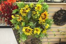 Wreaths / Make a statement this spring with a unique entry! Our home department offers custom designed wreaths that are sure to impress the neighbors.  / by Stauffers of Kissel Hill