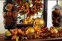 Fabulous Fall / I just love the rich colors of Autumn!!