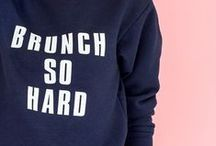 brunch. / It's all about #brunch: The best meal of the day!